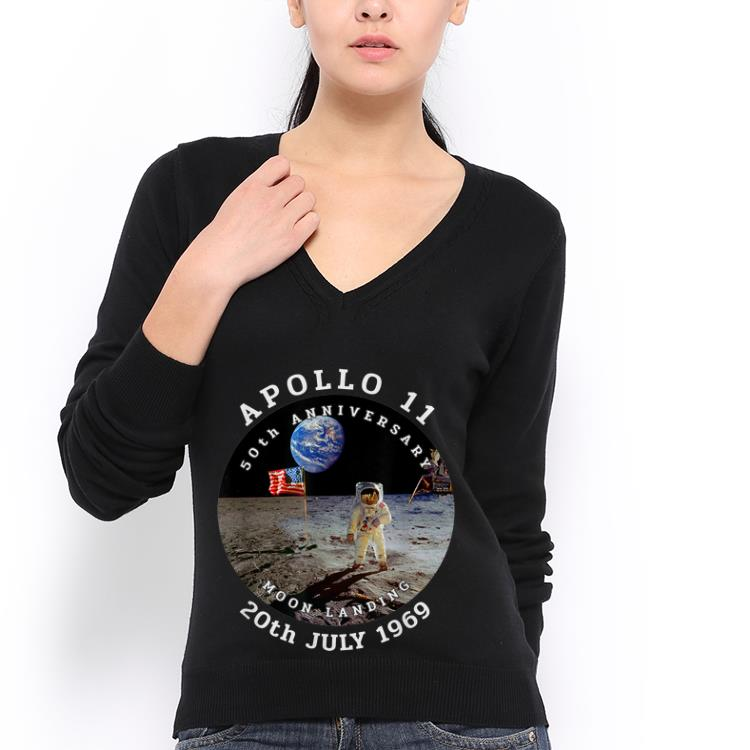 Awesome Astronaut Apollo 11 50th Anniversary Moon Landing American Flag 20th July 1969 Shirt 3 1.jpg