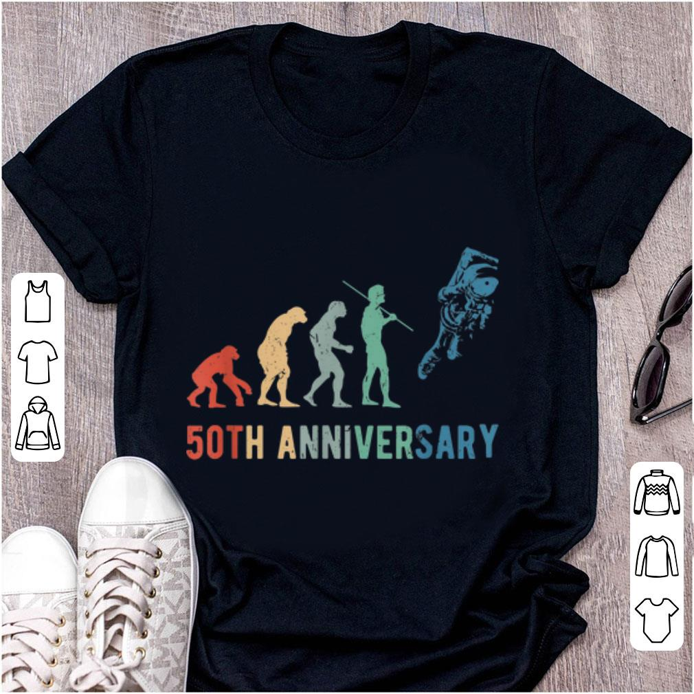Awesome Astronaut Evolution 50th Anniversary Moon Landing Shirt 1 1.jpg