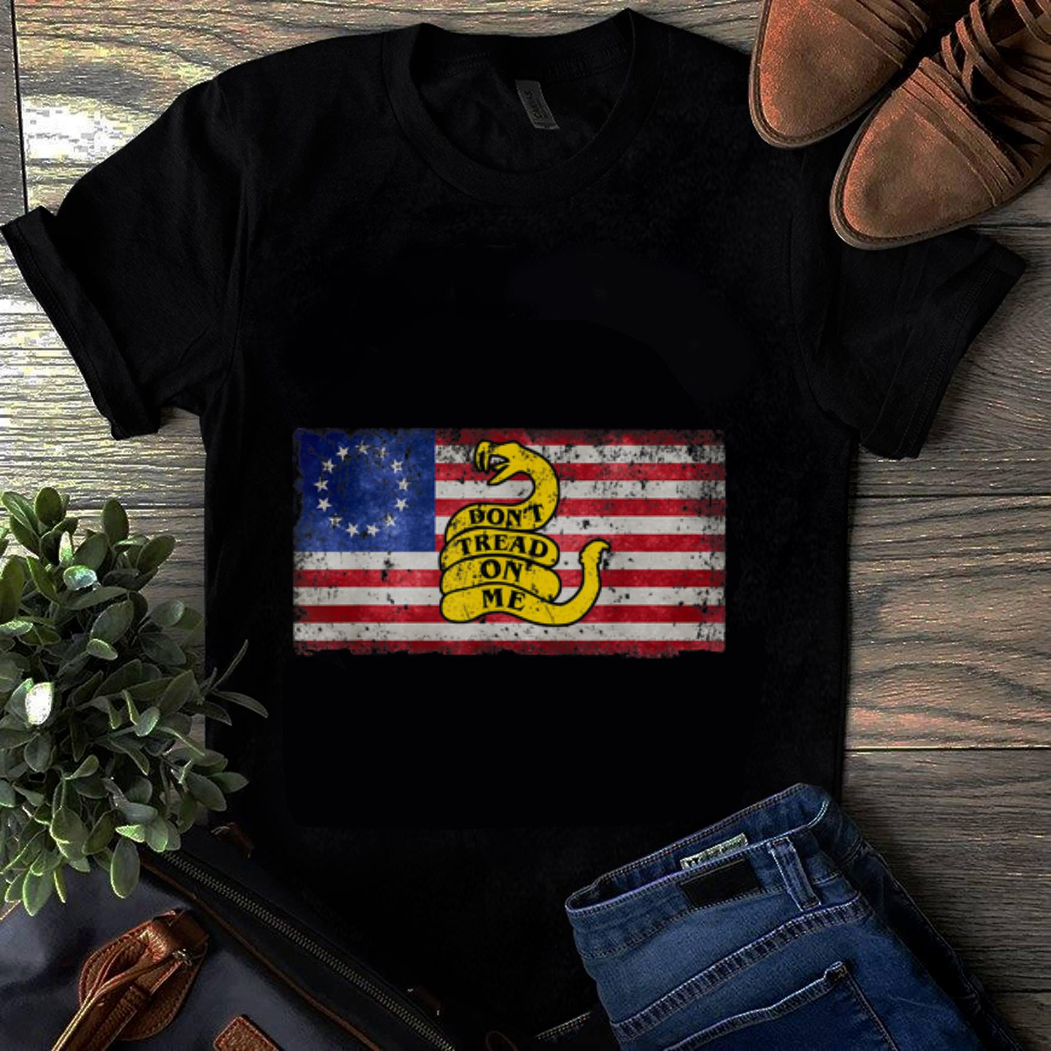 Awesome Betsy Ross Flag Don T Tread On Me Snake Guy Tee 1 1.jpg