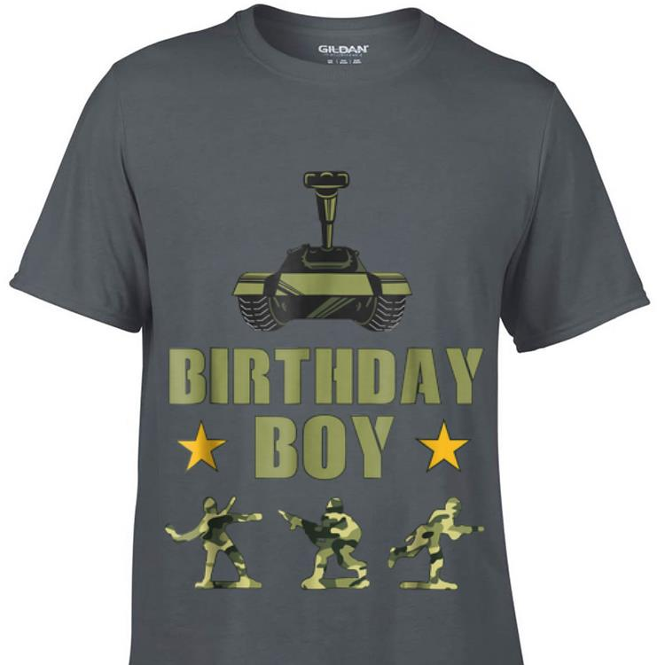 Awesome Birthday Party Army Party Army Decorations Shirt 1 1.jpg