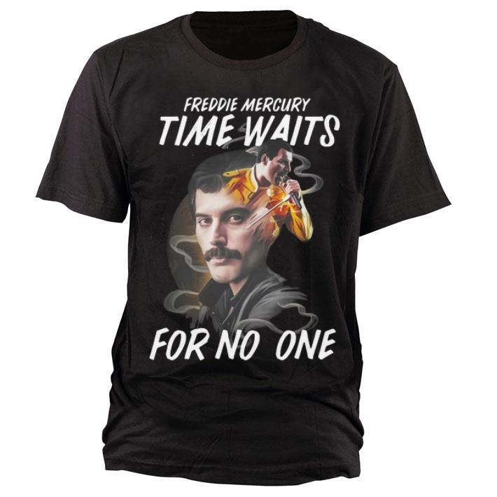 Awesome Freddie Mercury Time Waits For No One Shirt 1 1.jpg