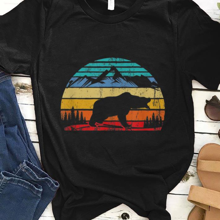 Awesome Vintage Bear Graphic Campers shirt