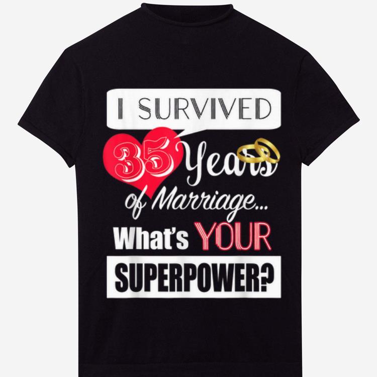 Hot 35 Year Anniversary 35th Wedding Anniversary Shirt 1 2 1.jpg