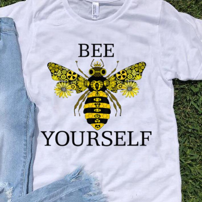 Hot Bee Yourself Namaste Love Save The Bees Save The World shirt