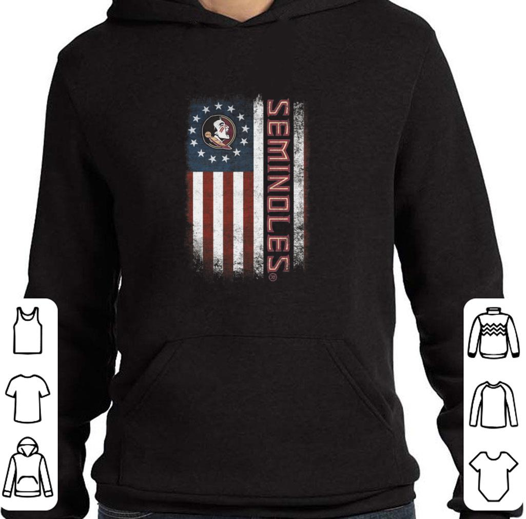 Hot Florida State Seminoles FSU Betsy Ross flag shirt
