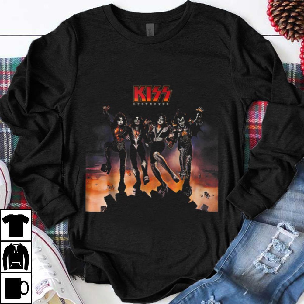Hot Kiss Band Destroyer shirt