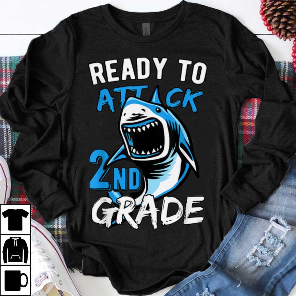 Hot Ready To Attack 2nd Grade Shark Shirt 1 1.jpg