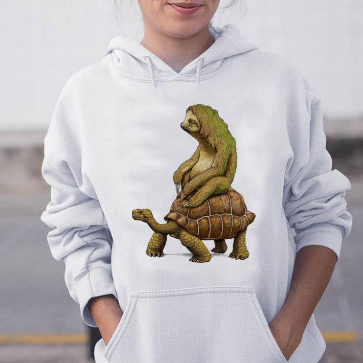 Hot Speed Is Relative Sloth And Turtle Moving Slowly Shirt 2 1.jpg