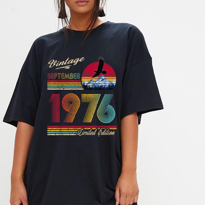 Hot Vintage September 1976 43th Birthday 43 Years Old Shirt 3 1.jpg
