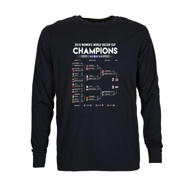Nice List 2019 Women's World Soccer Cup Champions United States shirt