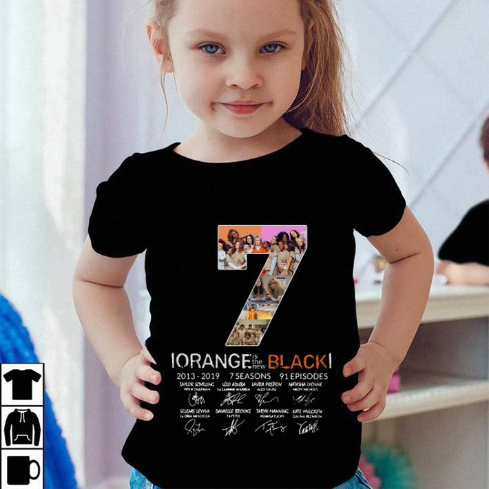 Official 7th Season Orange is the new Black 2013-2019 signatures shirt