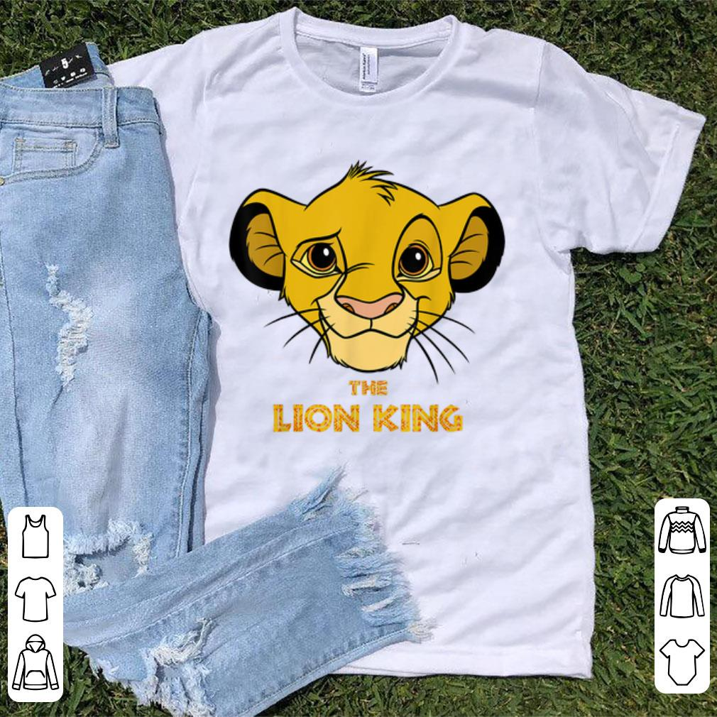 Official Disney Lion King Young Simba Head The King Is Smiling Shirt 1 1.jpg