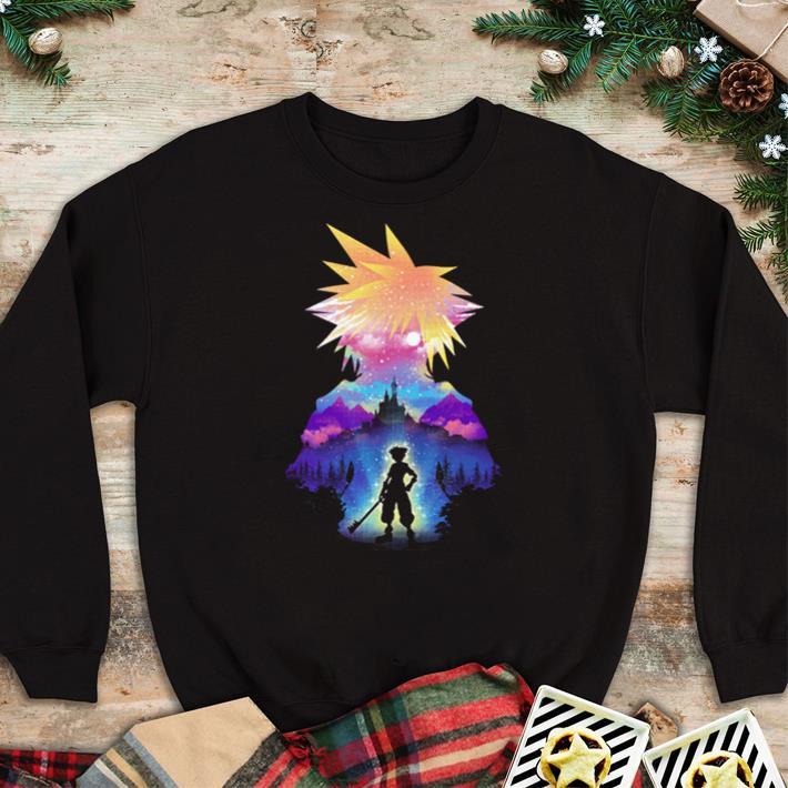 Official Midnight Sora Kingdom Hearts 3 shirt