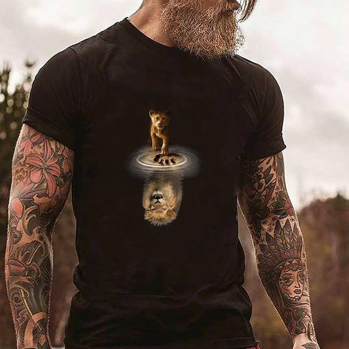 e9daaae7 Official Simba reflection Mufasa The Lion King 2019 shirt