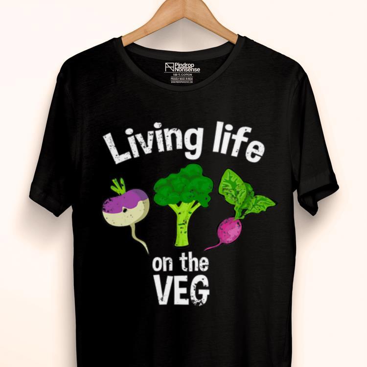 Official Vegan Living Life On The Veg Graphic Vegetable Shirt 1 1.jpg