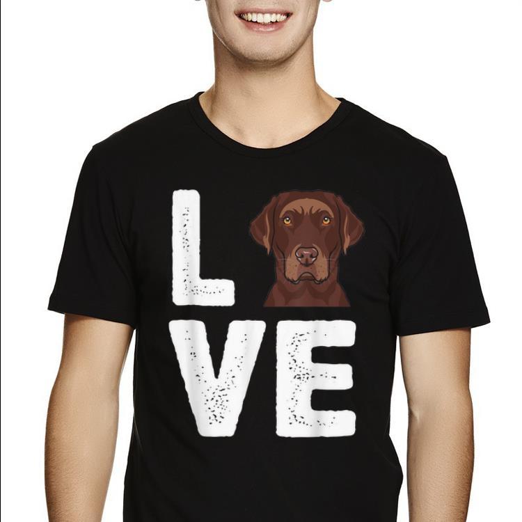 Original Chocolate Labrador I Love My Chocolate Lab Shirt 2 1.jpg