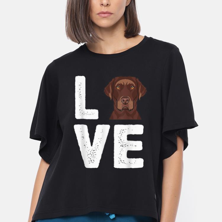 Original Chocolate Labrador I Love My Chocolate Lab Shirt 3 1.jpg