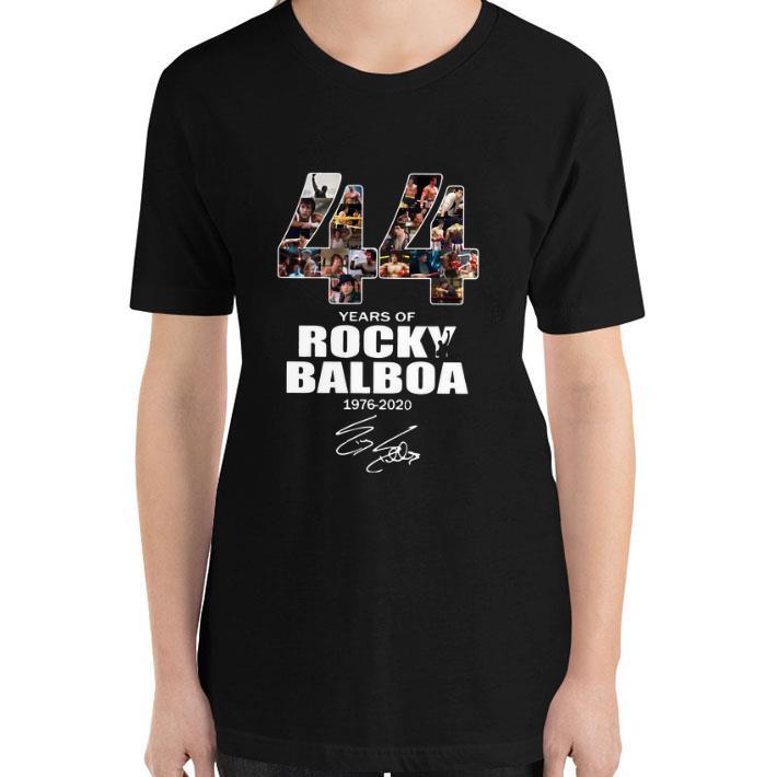 Premium 44 Years Of Rocky Balboa 1976 2020 Signature Shirt 3 1.jpg