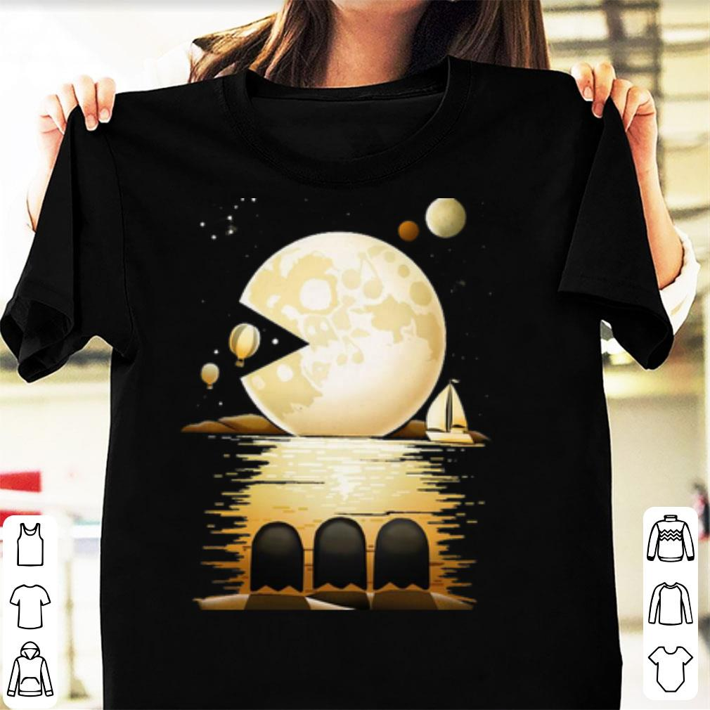Premium Pac Moon Pacman And The Moon shirt