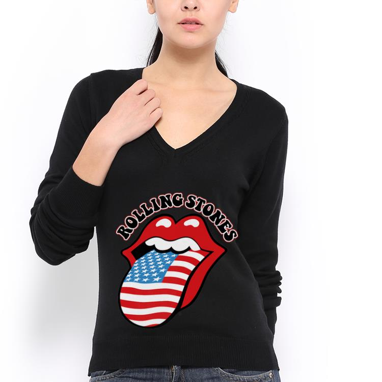 Premium The Rolling Stones American Tongue shirt