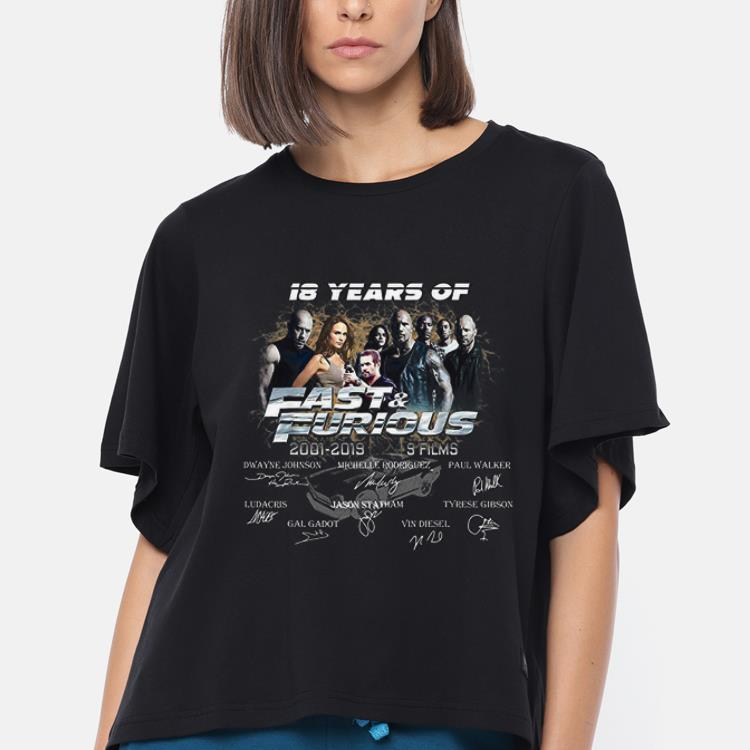 Pretty 18 Years Of Fast And Furious Signature Shirt 3 1.jpg