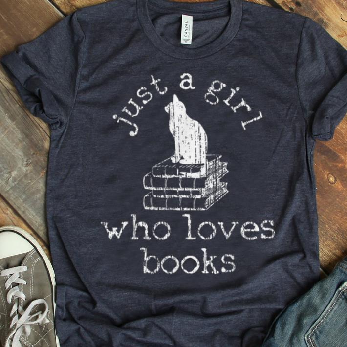 Pretty Book Bookworm Cat Lover Gift Reading Shirt 1 1.jpg