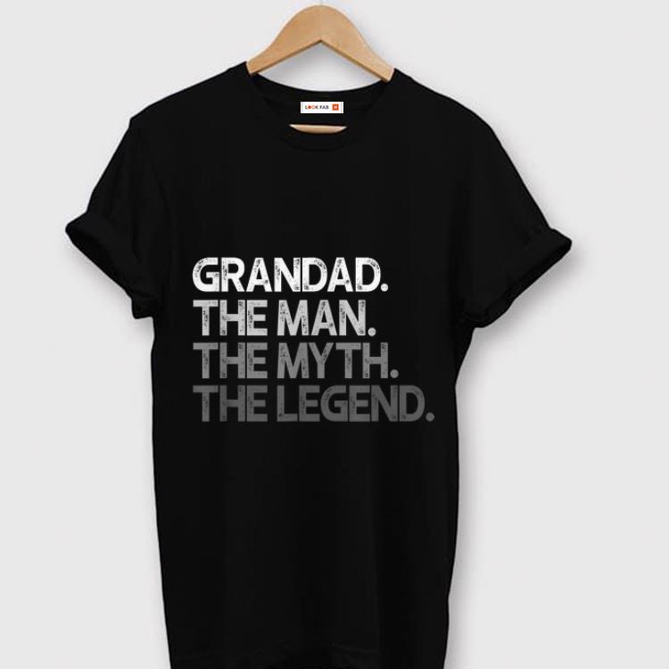 Pretty Grandad The Man The Myth The Legend Grandad Gift shirt