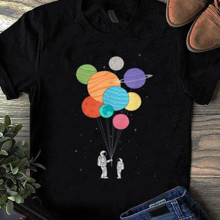 Pretty Planet Balloons Atronaut And His Child Shirt 1 1.jpg