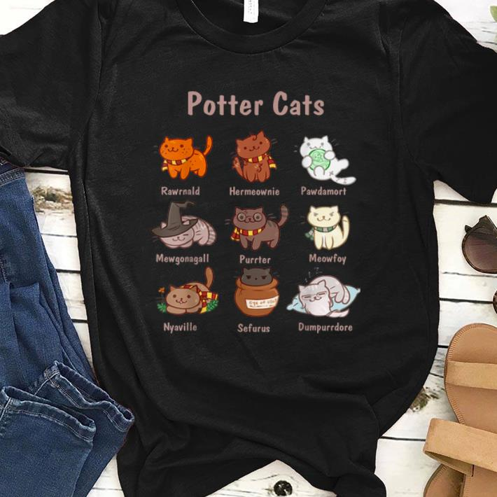 Pretty Potter Cats Harry Potter And Cat Cat Lovers Shirt 1 1.jpg