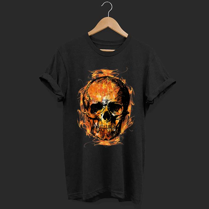 Pretty Skull Head Fiery Novelty Fire Skull Flaming Shirt 1 1.jpg