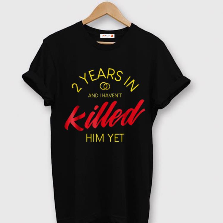 Top 2nd Wedding Anniversarys For Her 2nd Year Annive Shirt 1 1.jpg