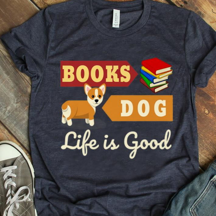 Top Book And Dog For Reader Book Lover Dog Lover Shirt 1 1.jpg