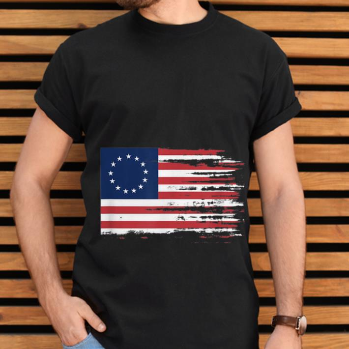 Top Independence Day 4th Of July Patriotic Betsy Ross Battle Flag 13 Colonies Shirt 2 1.jpg