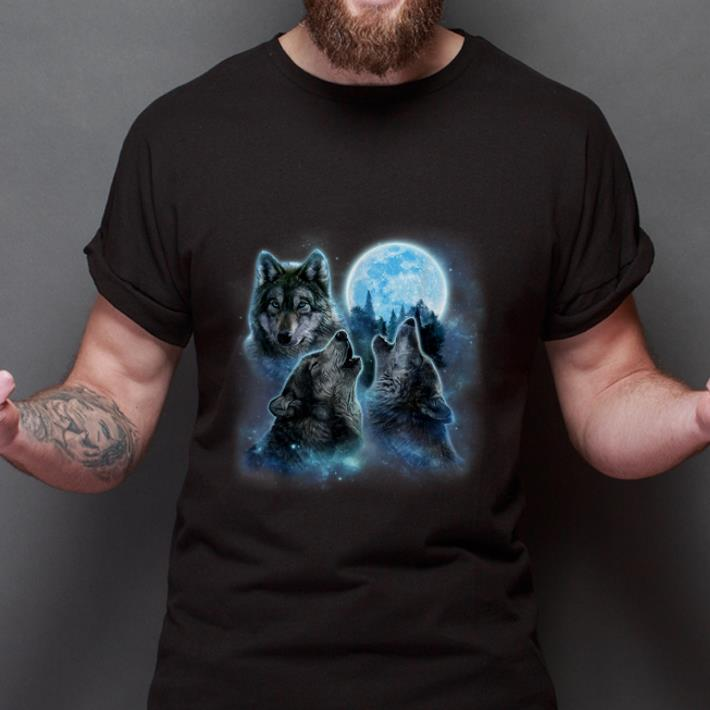 Top Three Wolves Howling And Moon Wolf Shirt 2 1.jpg
