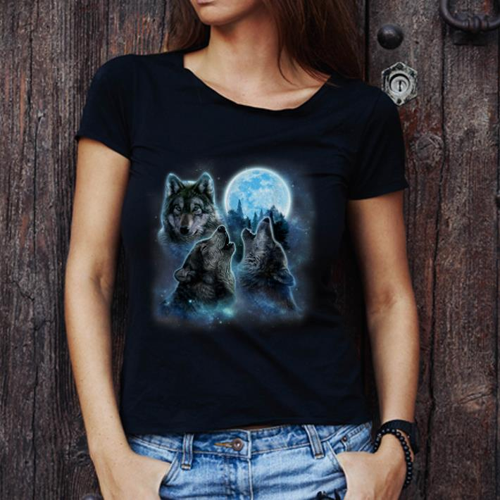 Top Three Wolves Howling And Moon Wolf Shirt 3 1.jpg