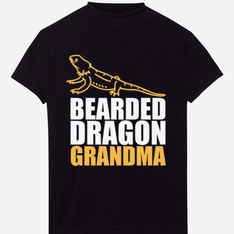 Yellow Basilisk Bearded Dragon Grandma shirt