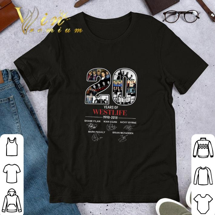 20 Years Of Westlife 1998 2018 Signatures Shirt 1 1.jpg