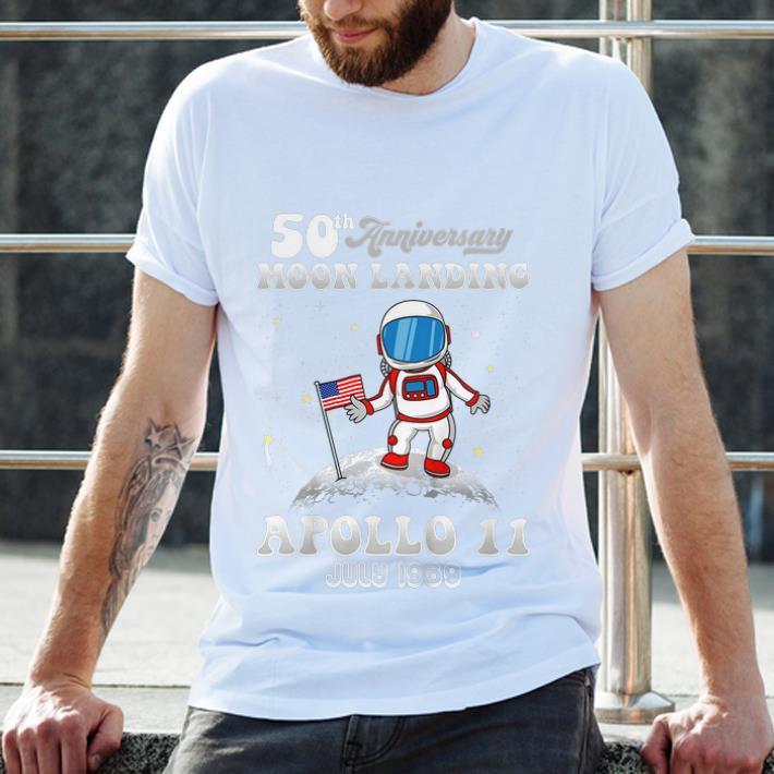 50th Anniversary Moon Landing Apollo 11 Astronaut Put American Flag July 1969 2