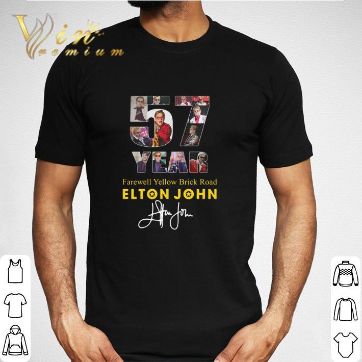 57 Years Farewell Yellow Brick Road Elton John Signature Shirt 2 1.jpg