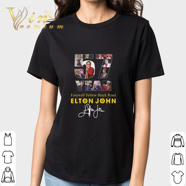 57 Years Farewell Yellow Brick Road Elton John Signature Shirt 3 1.jpg