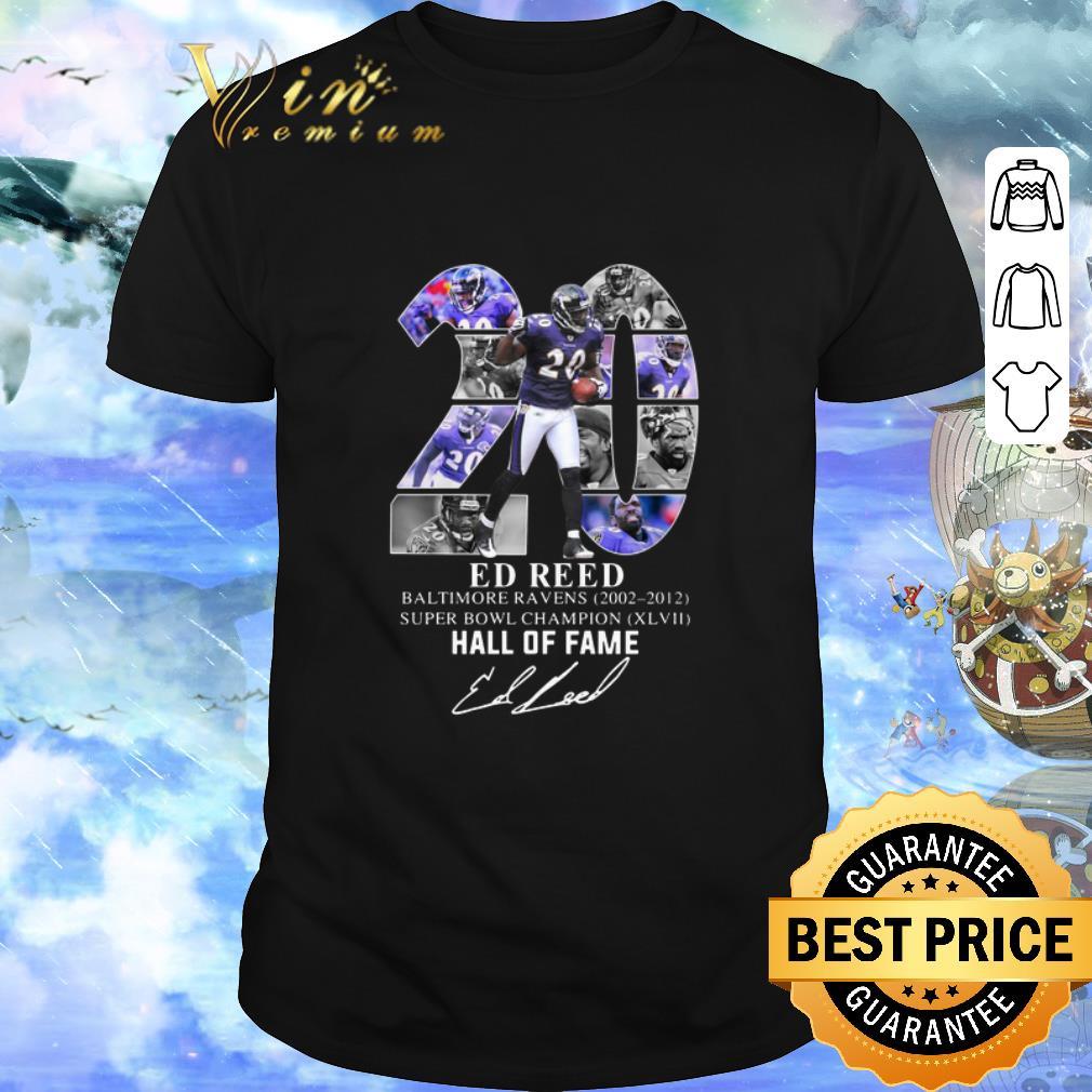 Awesome 20 Ed Reed Baltimore Ravens 2002 2012 Super Bowl Champion Shirt 1 1.jpg