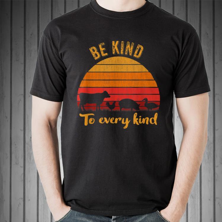 Awesome Be Kind To Every Kind Animal Vintage Shirt 2 1.jpg