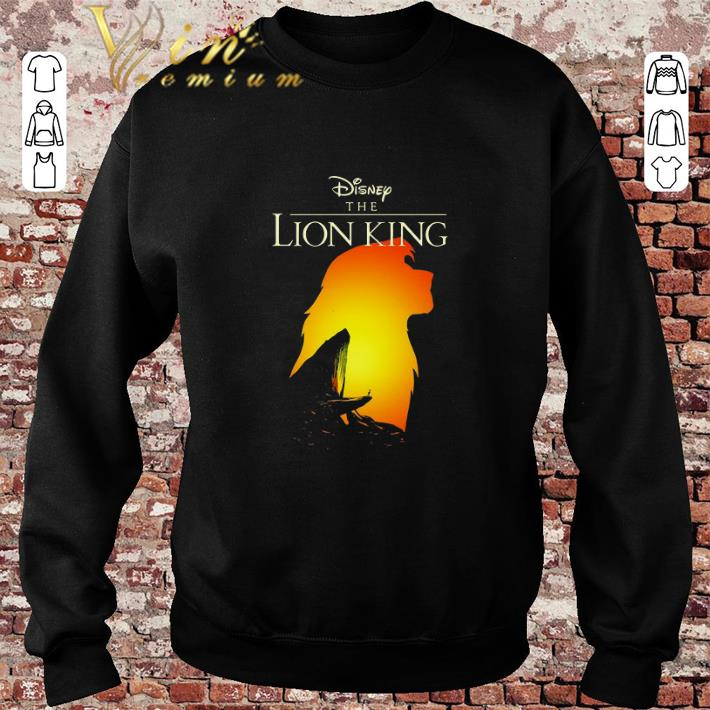 Awesome Disney The Lion King Simba sunset shirt