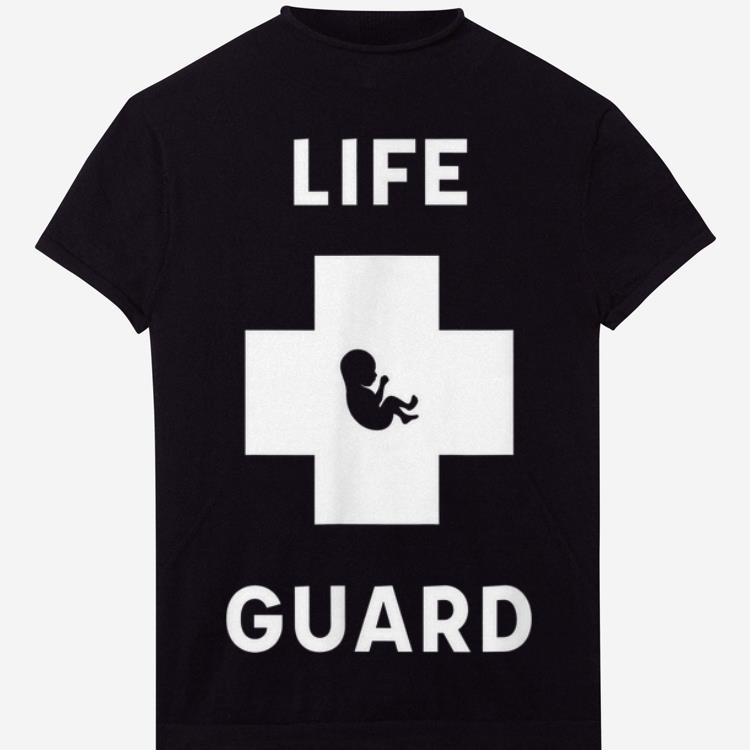 Awesome Life Guard Cross Baby shirt