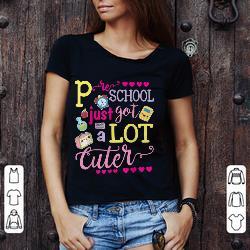 Best Price Preschool Just Got A Lot Cuter Shirt 3 1.jpg