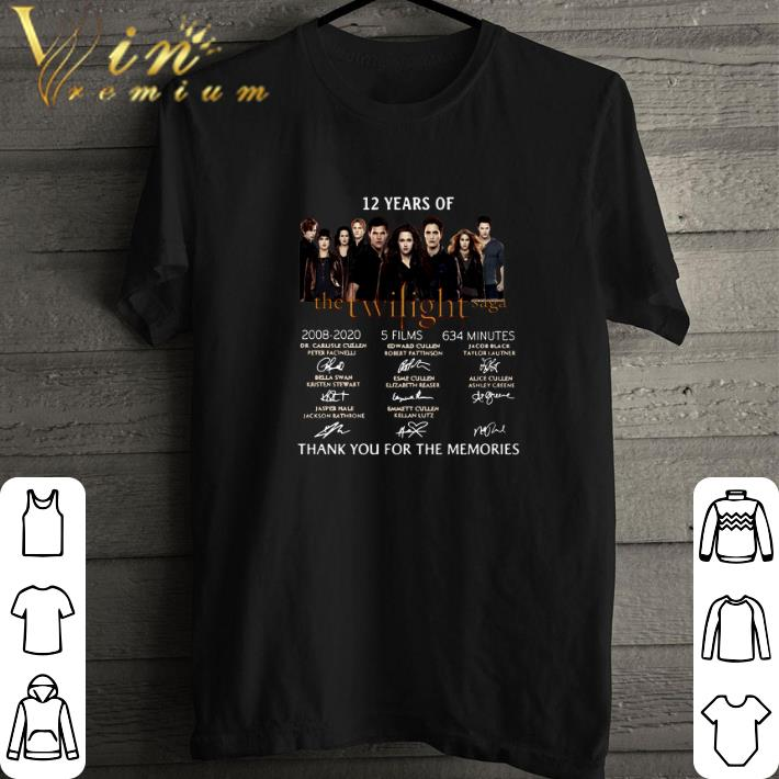 Funny 12 Years Of The Twilight Saga 2008 2020 Signatures Shirt 1 1.jpg