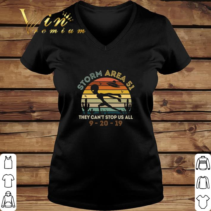Funny Alien Storm Area 51 They Can T Stop Us All Vintage Shirt 2 1.jpg