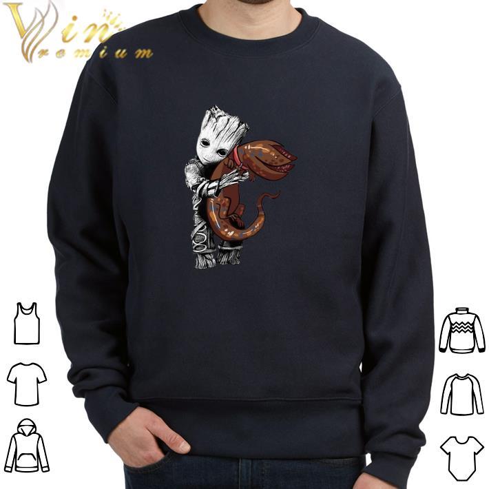 Funny Baby Groot hug baby Dart Stranger Things shirt