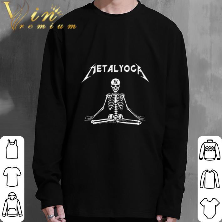 Funny Metalyoga Metallica Yoga shirt