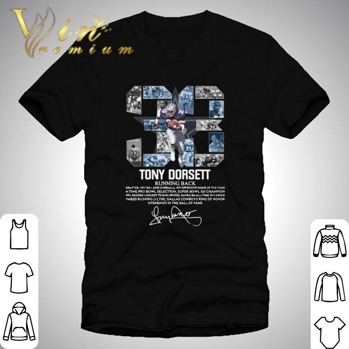 Hot 33 Tony Dorsett Running Back Signature Shirt 1 1.jpg